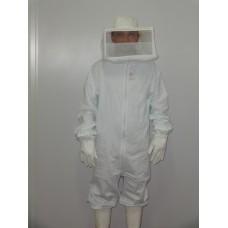 Macacao p/ apicultor com mascara e chapéu em brim - Osjuan