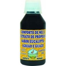 Composto de Mel , Própolis , Eucalipto , Agrião e Guaco 280g - Natus Minas